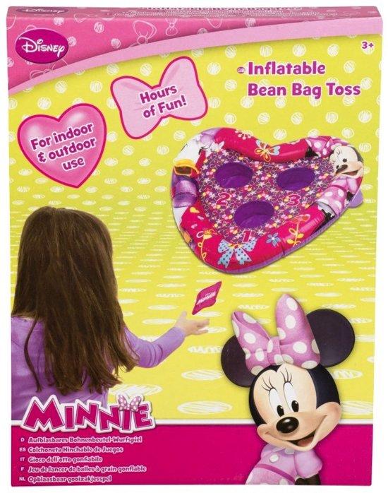 Afbeelding van het spel Minnie Mouse opblaas gooispel bonenzakjes