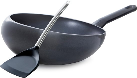 BK Easy Induction Wokarang - Ø 32 cm - incl. gratis Chinese wokspatel
