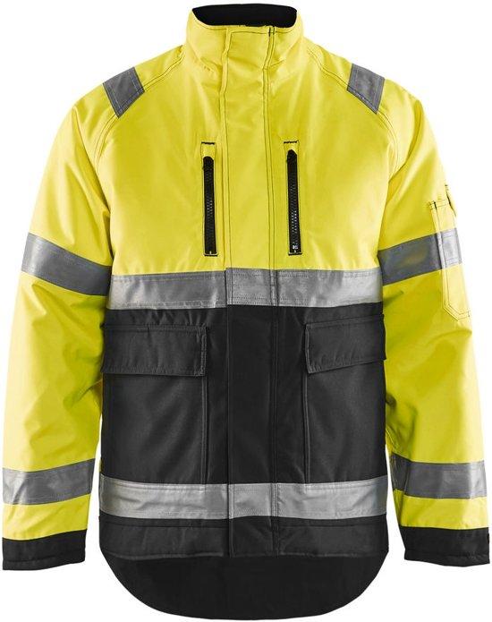Blåkläder 4827-1977 Winterjas High Vis Geel/Zwart maat XXXL