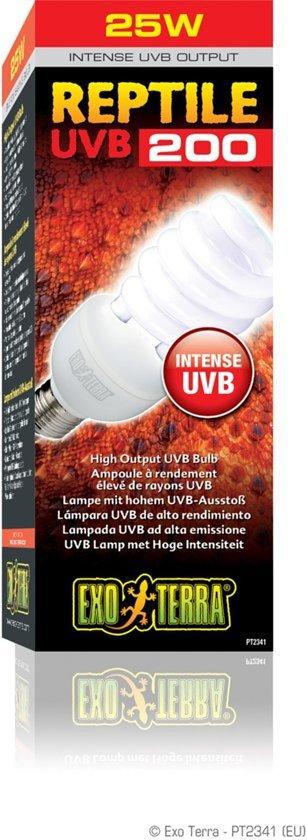 Exo Terra Terrarium verlichting Reptile UVB200 compact lamp- 26W