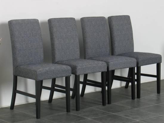 eetkamerstoel zwart grijs stoel sirius