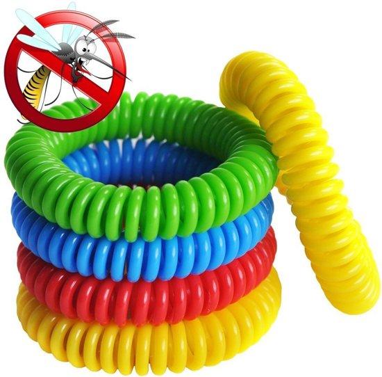10 stuks Anti Muggen Armband - Voor Kinderen en Volwassenen – Natuurlijk en Zonder Deet