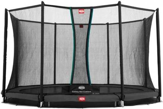 Berg Trampoline Inground Favorit Met Net 380 Cm Grijs