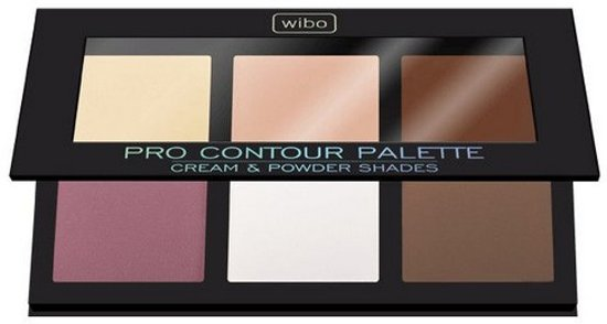 Wibo Pro Contour Palette Cream & Powder Shades Dark