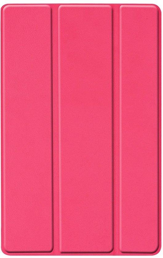 Shop4 - Samsung Galaxy Tab A 10.1 (2019) Hoes - Smart Book Case Roze