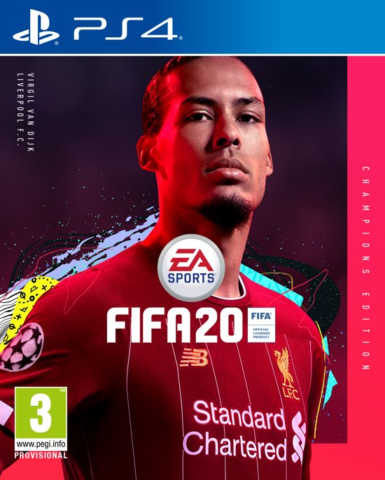 FIFA 20 - Champions Edition - PS4 - Niet beschikbaar in BE