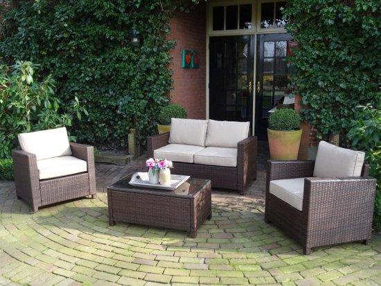 2 Loungestoelen Met Tafeltje.Mooie Compacte Loungeset Met 2 Persoons Bank Een Tafel En 2 Stoelen