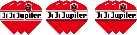 3 sets (9 stuks) Dragon dart Jupiler bier – dartflight – flights