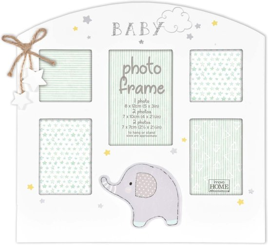 Fotolijst 5 Fotos.Bol Com Innova Home Baby Collage Fotolijst Olifant 5 Foto S