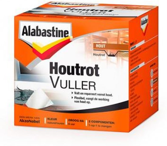 Alabastine Houtrotvuller - 500 gram