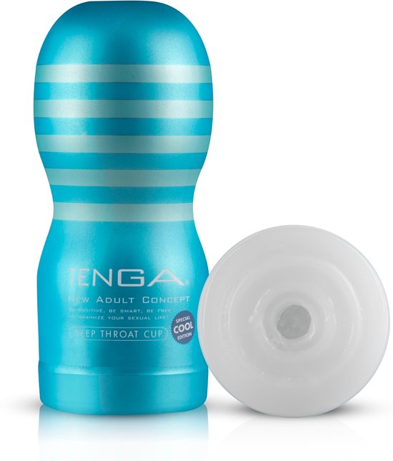 Tenga Cool Edition Deep Throat Cup - Vibrator - Masturbator