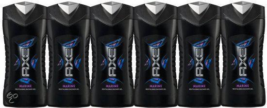 Axe Deodorant Marine Douchegel 6st Voordeelverpakking