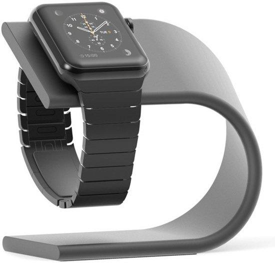 Nomad Stand voor de Apple Watch - Spacegrijs