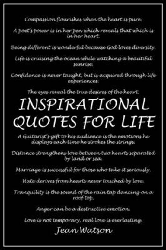 Bolcom Inspirational Quotes For Life Dr Jean Watson