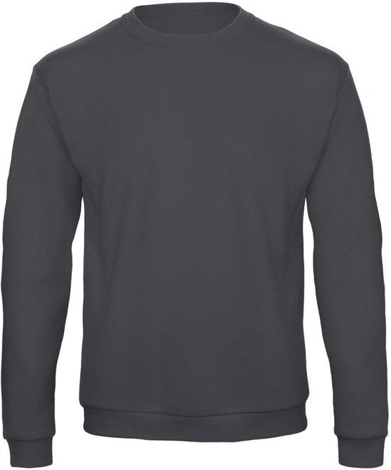 Senvi Fleece Crew Sweatshirt - Kleur: Antraciet – Maat: XL