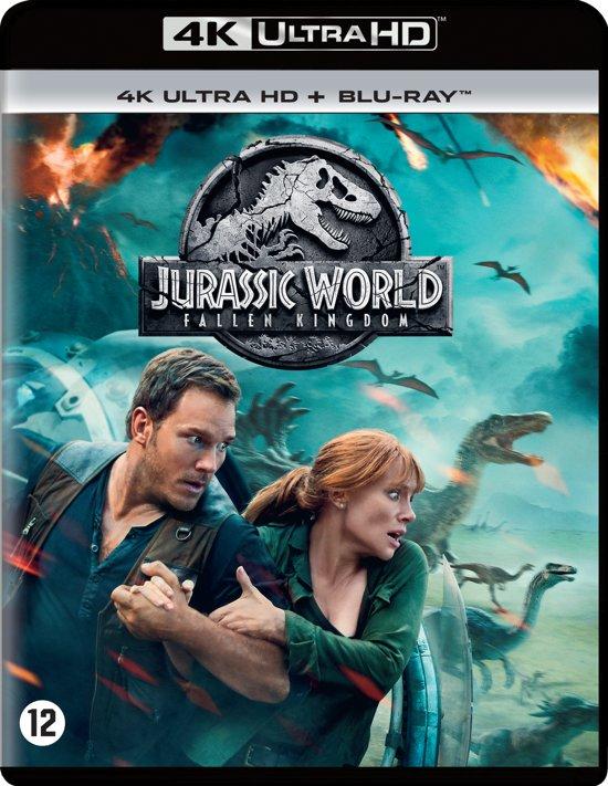 DVD cover van Jurassic World: Fallen Kingdom (4K Ultra HD Blu-ray)
