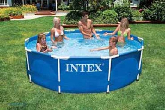 Intex frame zwembad rond 305x76 cm