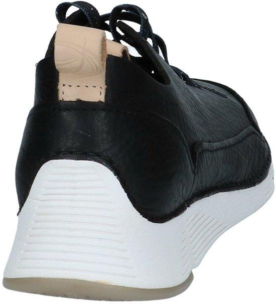 Black 39 Dames Nubuck Spark Clarks Zwart;zwarte Tri Veterschoenen Maat wOR6F60Sqx