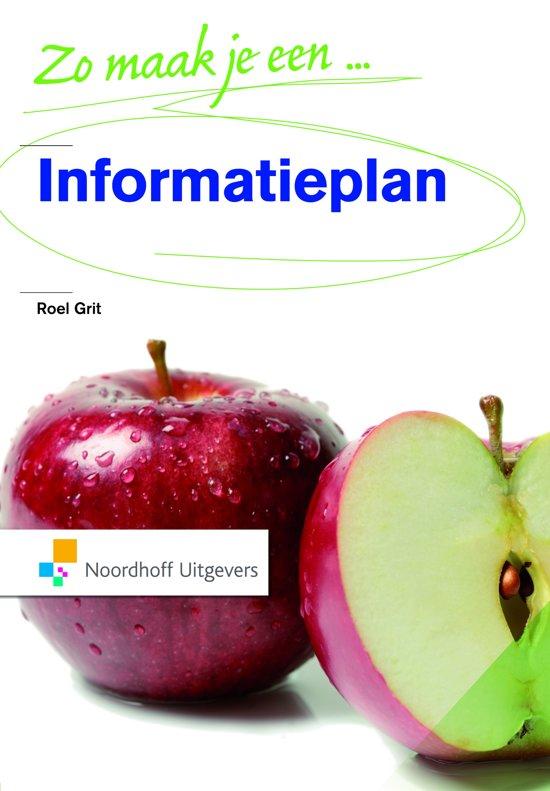 Boek cover Zo maak je een Informatieplan van R. Grit (Paperback)