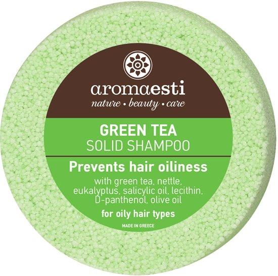 Aromaesti Solid Shampoo Bar Groene Thee - vet haar - 2 stuks