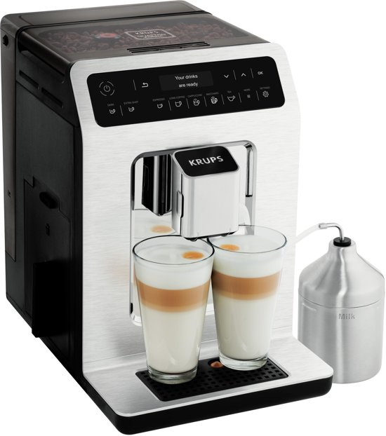 Krups Evidence EA891C - Espressomachine - Chrome