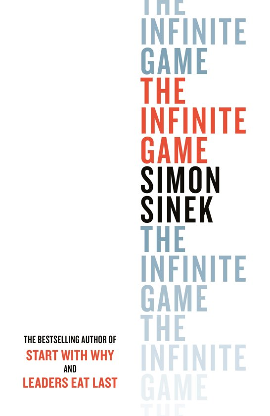 Boek cover The Infinite Game van Simon Sinek (Hardcover)