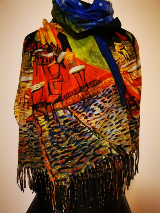 Paco's Logroño Art Dames Wintersjaals