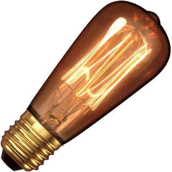 Bol Com Calex Clear Ll Goldline Filament Lamp 240v 40w E27 Rustic