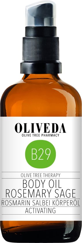 Oliveda B29 Body Oil Rosemary Sage activating 100ml