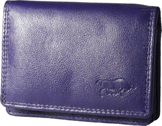 d7066e13085 Mini dames portemonnee-Leer-overslag portemonnee klein-Kleine portemonnee-  kinder portemonnee-
