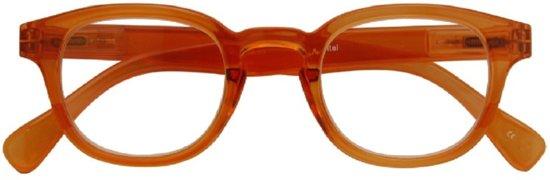Croon Leesbril Montel Unisex Oranje Sterkte +1,50
