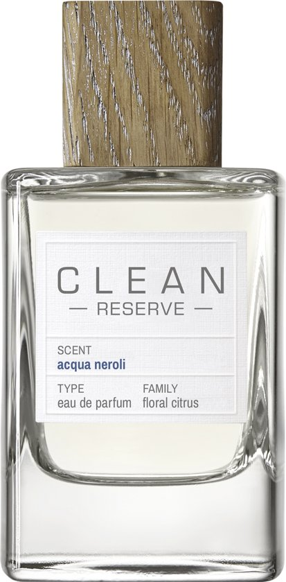 Clean Reserve Acqua Neroli - 100 ml - eau de parfum spray - unisex parfum