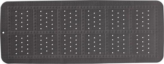 Antislip Mat Groot.Sealskin Unilux Antislipmat 35x90 Cm Pvc Antraciet