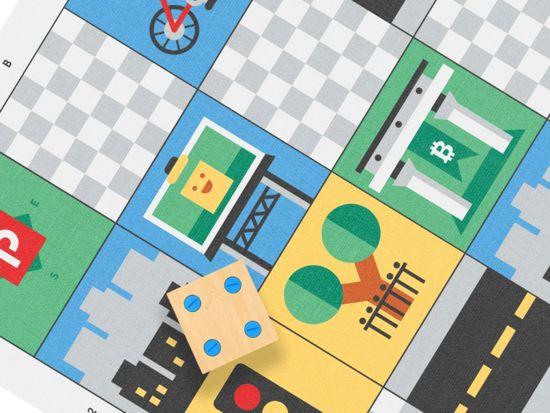 Primotoys - Cubetto Grote Stad - set