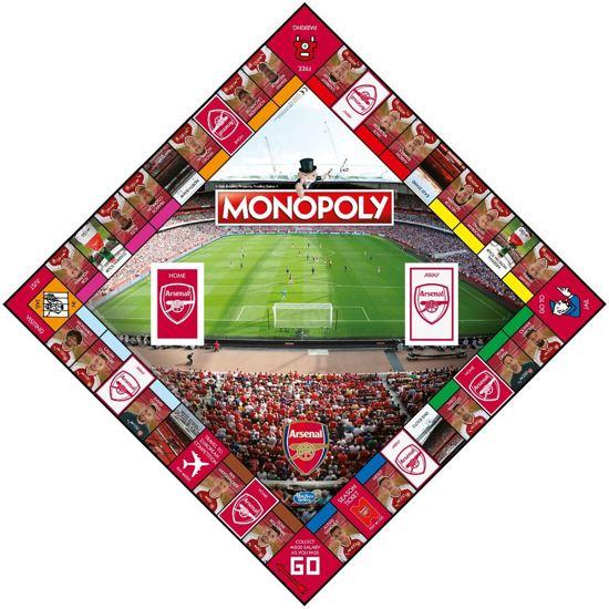 Monopoly Arsenal F.C. - Engelstalig Bordspel