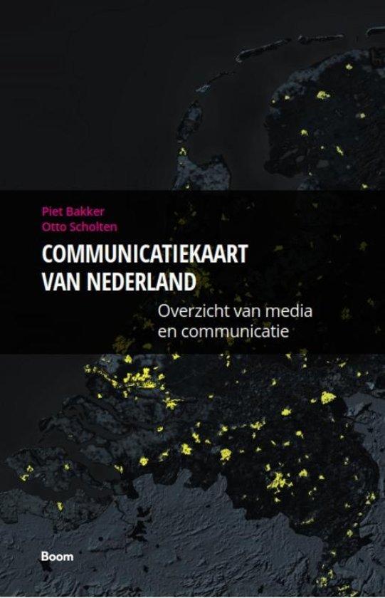 Communicatiekaart van Nederland