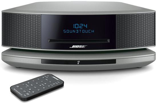 bose wave soundtouch iv zilver. Black Bedroom Furniture Sets. Home Design Ideas