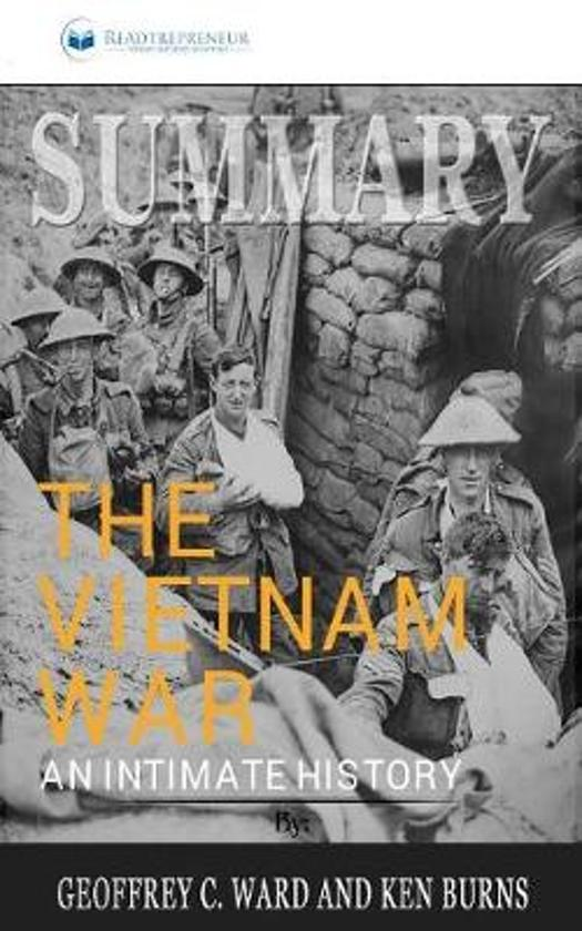 Boek cover Summary of The Vietnam War van Readtrepreneur Publishing (Paperback)