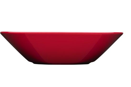 Iittala Teema Diep bord - 21 cm - Rood