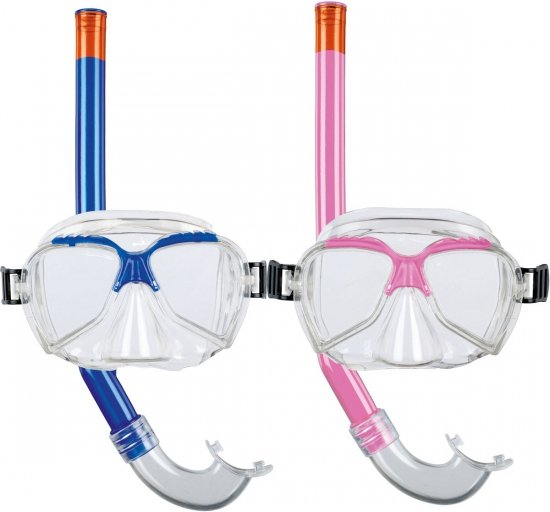 Beco - Snorkelset - Kinderen - Roze