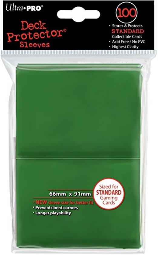 Afbeelding van het spel Speelgoed | Kaartspel - Sleeves Green Solid 100