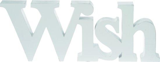 Riverdale - Woord Wish - 45cm - wit