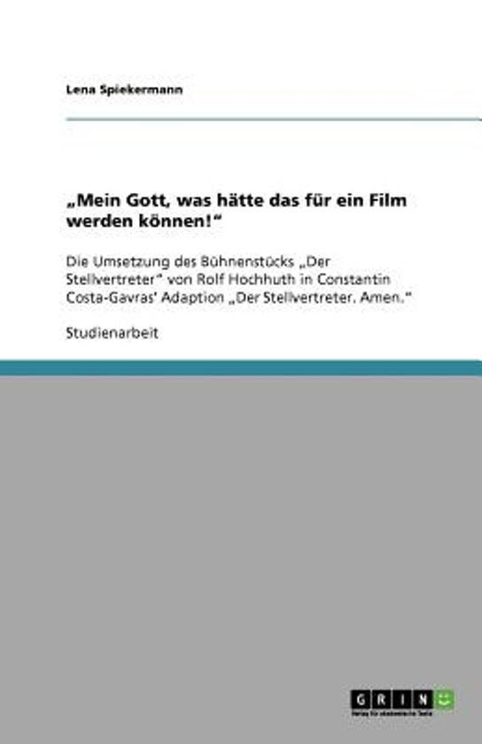 mein Gott, Was H tte Das F r Ein Film Werden K nnen!