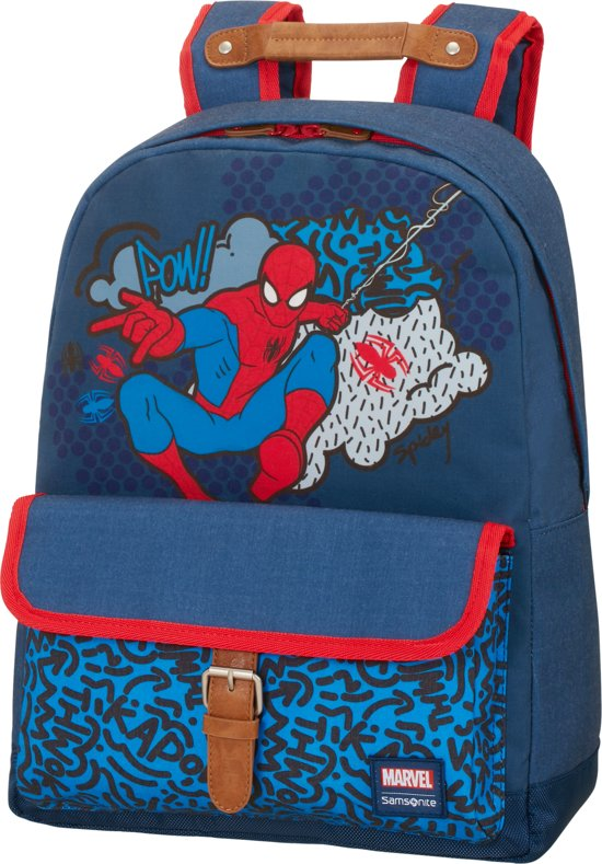 Stylies Marvel Pop Kinderrugzak Backpack Spiderman Samsonite M wanIv5vq