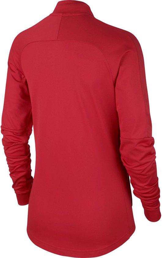 Nike Dry Academy 18 Trainingsjas Dames Sportjas Maat S Vrouwen rood