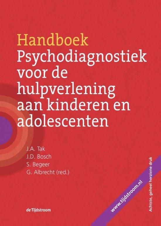 Handboek psychodiagnostiek voor de hulpverlening aan kinderen en adolescenten