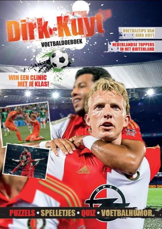 Boek cover Dirk Kuyt voetbal doeboek van Doeboek (Hardcover)