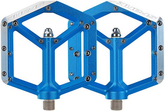 Spank Spike Pedalen blauw