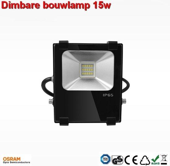 15w Dimbare AC-Bouwlamp led warm-wit
