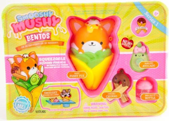 Smooshy Mushy Bento Box Vos Squishy - Speelfiguur